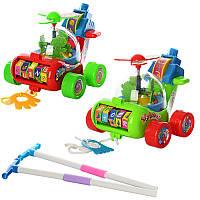 Каталочка игрушка для малышей Вертолет игрушечный