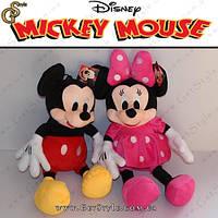 """Плюшевые игрушки Микки Маус и Минни Маус - """"Mickey & Minnie"""" - 2 шт."""