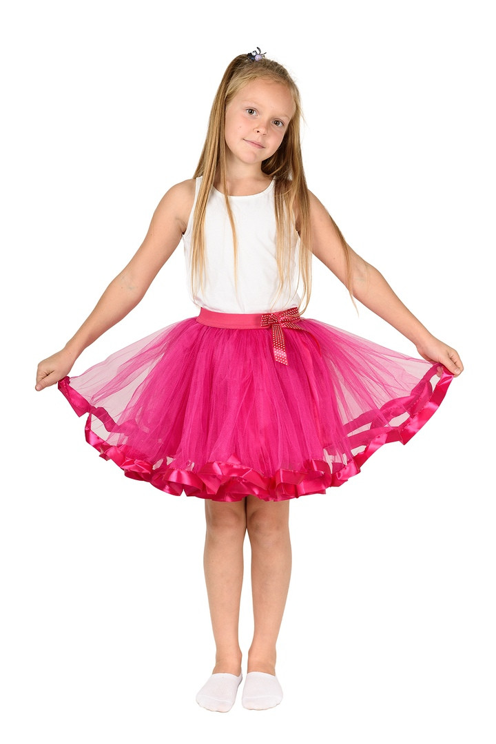 Фатиновая юбка-пачка на резинке