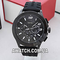 Мужские кварцевые наручные часы Skmei 9136