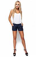 (S, M, L) S, M, L / Женские стильные шорты Matias, темно-синий M