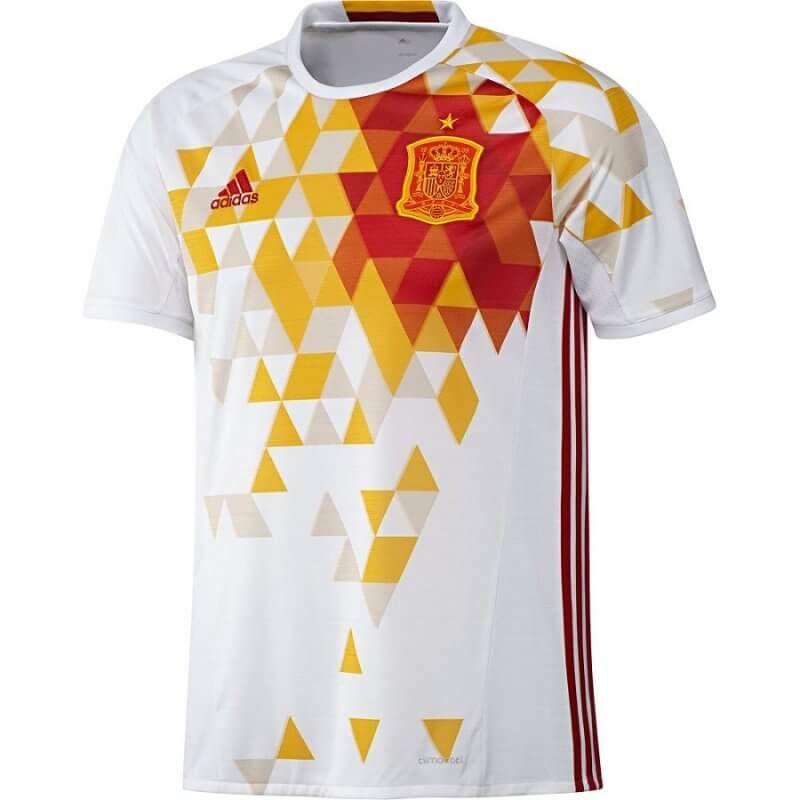 Форма футбольная сборная Испании белая