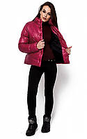 S, M / Демисезонная ультрастильный куртка Kiavi, марсала M, 46