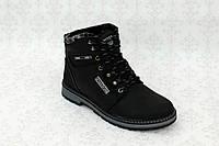 Зимние ботинки для детей и подростков из натуральной кожи