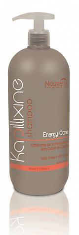 Шампунь против выпадения волос с витамином Е Nouvelle Energy Care 1000 мл, фото 2