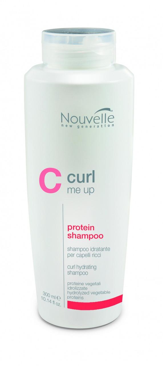 Шампунь протеиновый питающий для поврежденных волос Nouvelle Curl Me Up Protein Shampoo 300 мл