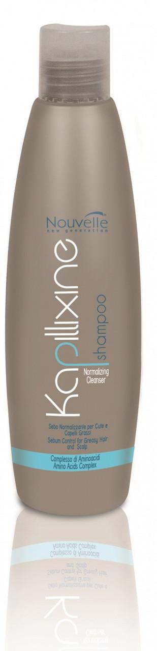 Шампунь для жирных волос с экстрактом крапивы Nouvelle Normalizing Cleanser 250 мл