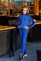Костюм для девочки кофта и штаны с лампасами