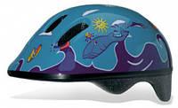 Шлем детский BELLELLI Taglia  FISH AZZURRO size-M (синий (море))