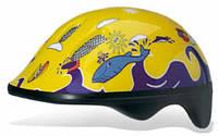 Шлем детский BELLELLI Taglia  FISH YELLOW size-M (желтый (море))