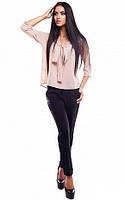 S, M, L / Женская молодежная блузка Fiona, бежевый