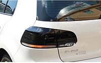 Задние фонари тюнинг LED оптика Volkswagen Golf 6 стиль R20 черные
