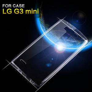 "LG G3S mini D724 dual ПРОТИВОУДАРНЫЙ бампер чехол для телефона TPU  "" CRYSTAL CLEAR """