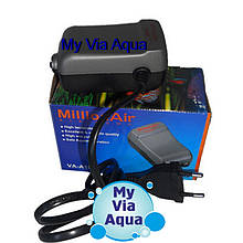 Компрессор для аквариума ViaAqua VA-2500, Atman АТ-А2500
