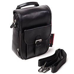 Мужская сумка Eminsa 6059-12-1 кожаная черная