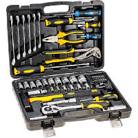 Набор инструментов Topex 38D224, 56 шт. (38D224)