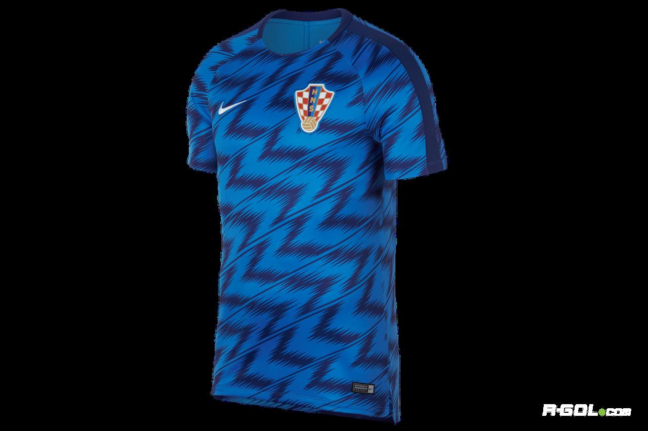 Футбольная футболка сборной Хорватии синяя XL