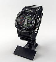 Часы Casio G-Shock GA-100 5081 мужские черные с белым