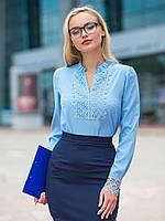 S, M, L, XL / Изысканная романтическая блузка Junis, голубой M