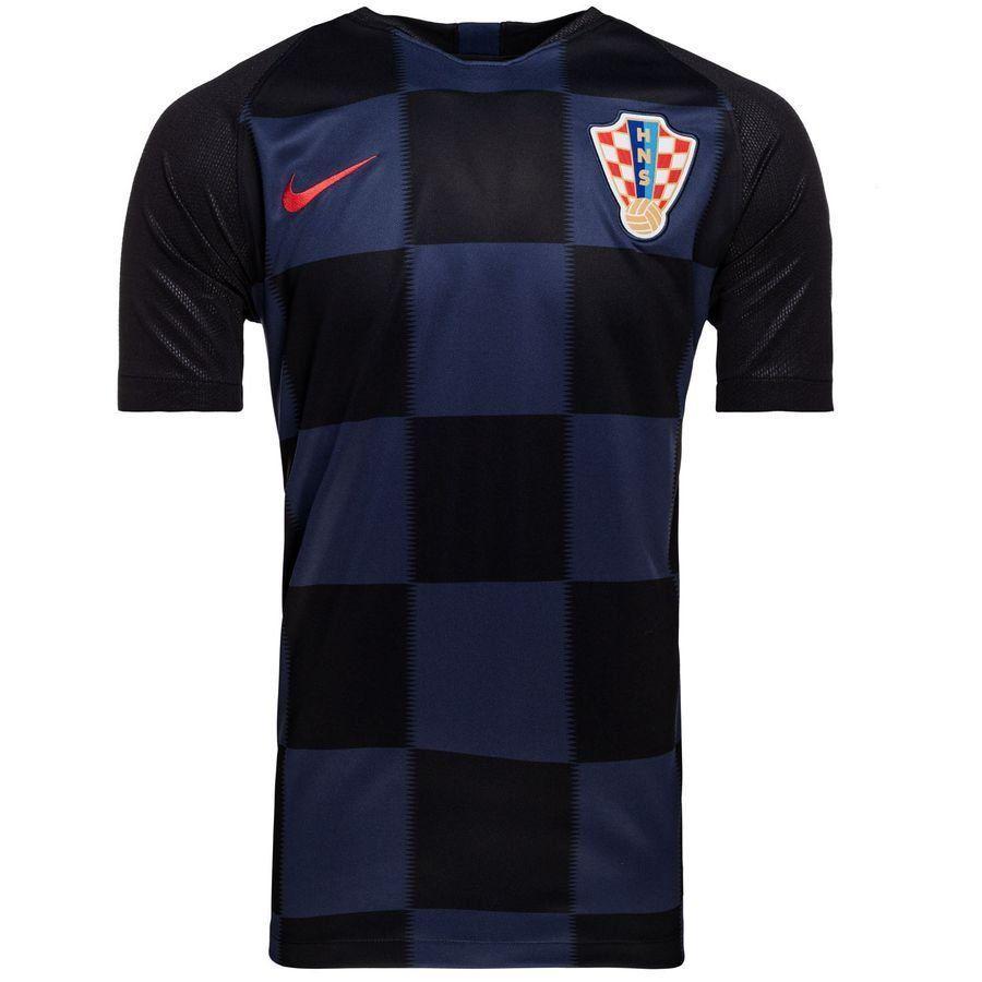 Футбольная футболка сборной Хорватии черная ЧМ 2018