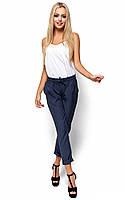 S, M, L / Женские льняные брюки Mateos, темно-синий S