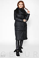 Зимнее пальто на синтепоне Gepur 28773
