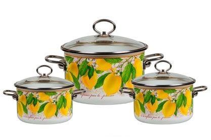 "Эмалированная посуда ""Limon"" VITROSS"