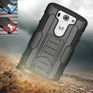 """LG G3S mini D724 dual ПРОТИВОУДАРНЫЙ бампер чехол с креплением для телефона TPU  """" NAVY SHEILD """""""