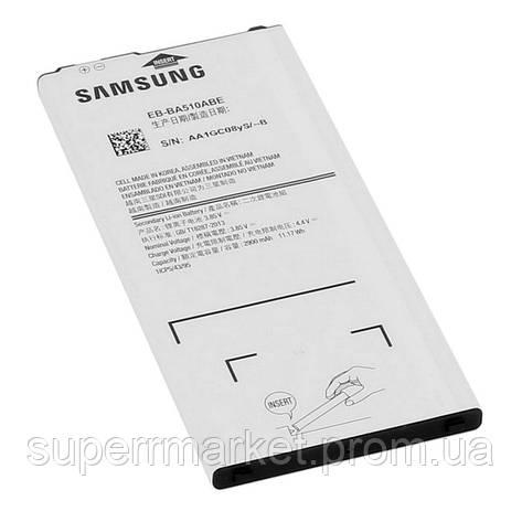 Аккумулятор Samsung Galaxy A510 (EB-BA510ABE) 2900mAh, фото 2