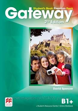 Gateway 2nd Edition B1+ Student's Book Premium Pack ISBN: 9780230473157