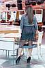 Элегантное нарядное сверкающее платье с пришивной фатиновой юбкой клеш, фото 9