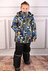 Дитячий зимовий комбінезон для хлопчика KIKO 4614, 110-128, фото 3