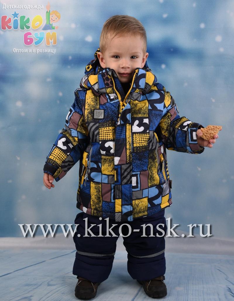 Дитячий зимовий комбінезон для хлопчика KIKO 4614, 110-128