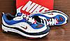 Мужские синие с белым кроссовки Nike Air Max Supreme 98, фото 8