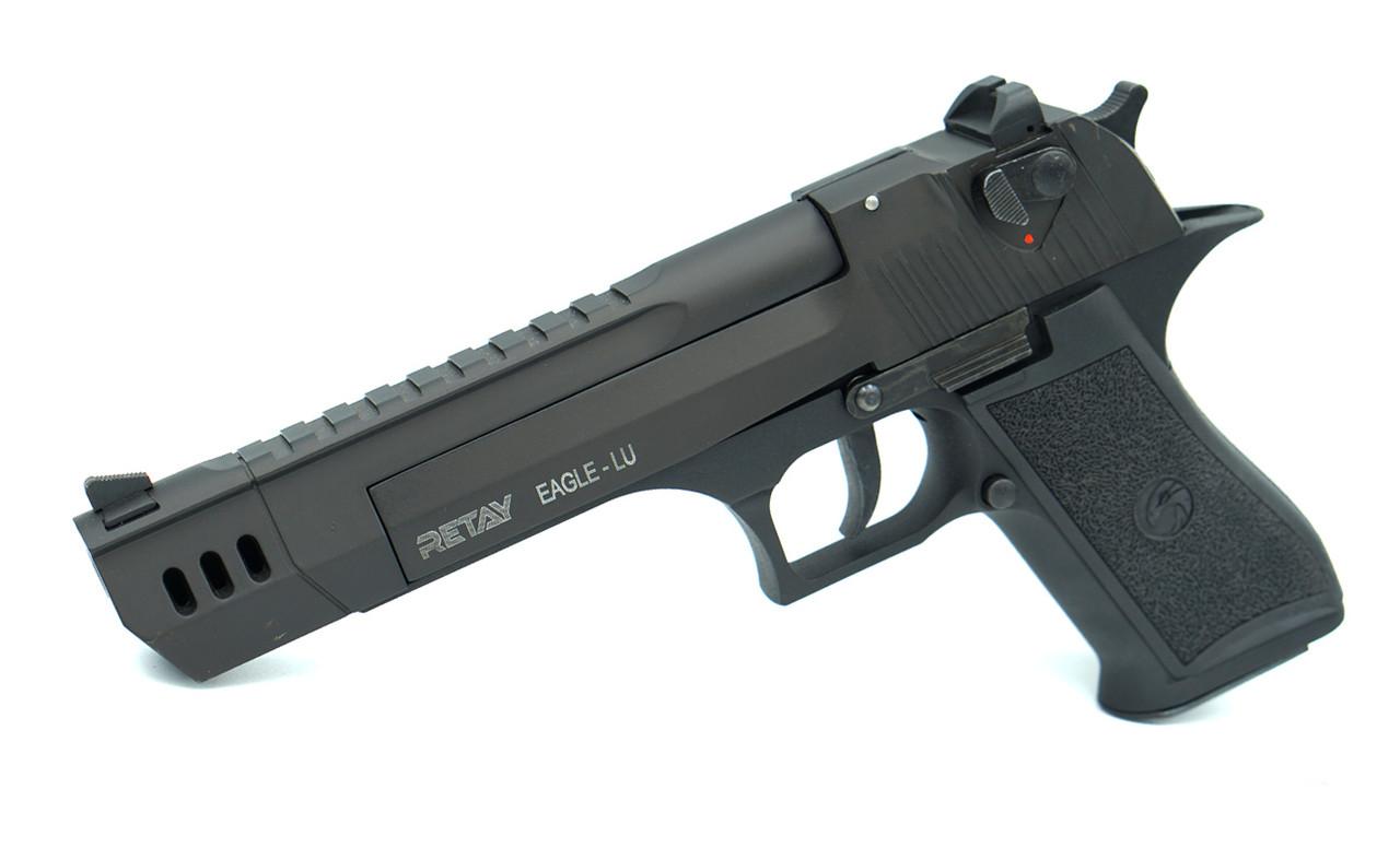Стартовый пистолет Retay Eagle XU Black