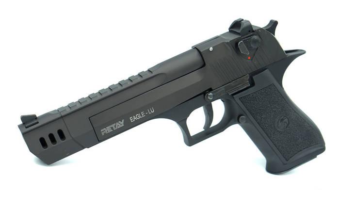 Стартовый пистолет Retay Eagle XU Black, фото 2