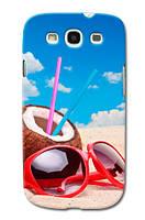 Чехол  для Samsung Galaxy S3 I9300 (Пляж)
