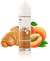 cb7087f91d7c Премиум жидкость для электронных сигарет WES Le Croissant 60 мл 3 мг  (Круассан с абрикосом