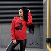Женский свитшот с накаткой Daria