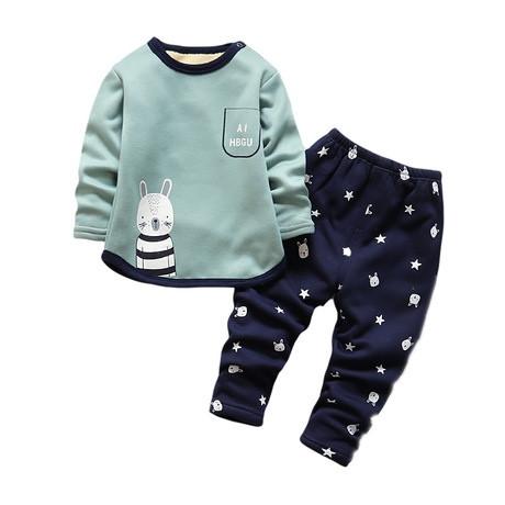 Пижама детская утепленная на махре на мальчика  осень/зима