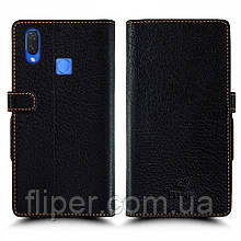 Чехол книжка Stenk Wallet для Huawei P Smart Plus Чёрный