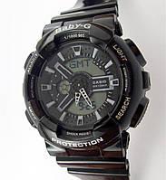 Детские часы Casio Baby G BA-110 черные водонепроницаемые