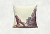 Подушка декоративная с принтом Ажур