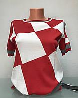 Кофточка женская трикотажная короткий рукав, фото 1