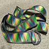 Ремень для йоги (цветной узор спектр), фото 3