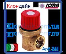 ICMA Предохранительный клапан 1,5 ваr