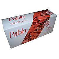 Сигаретные гильзы Pablo 550шт. Высшее Качество!!! Гильзы папиросные, для табака, ОПТ