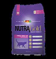 Nutra Gold Finicky Adult Cat сухой корм для привередливых кошек, 18.14 кг