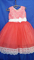 Платье праздничное, бальное детское на 4-5 года ОПТОМ и в РОЗНИЦУ