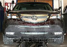 Декоративно-защитная сетка радиатора Acura MDX фальшрадиаторная решетка, бампер